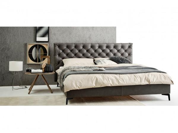 Möller Design Premium Bohemian E Boxspringbett Stoff 180 x 200cm