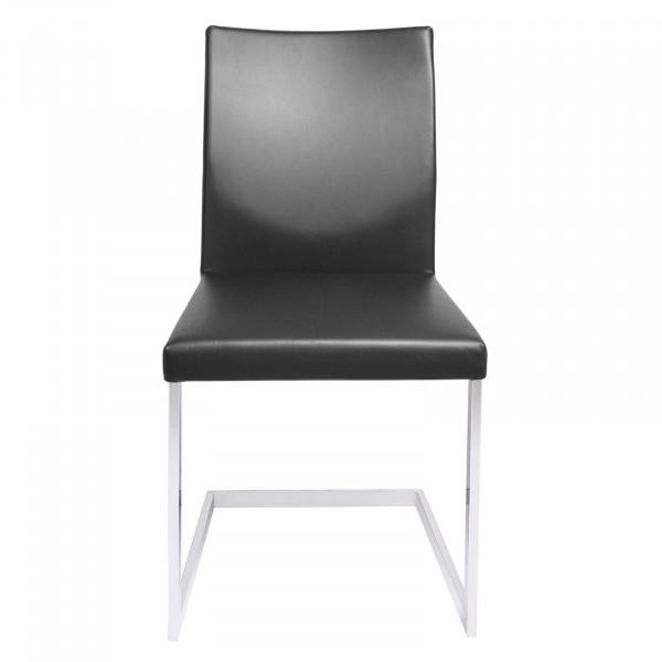 KFF Feel Freischwinger Stuhl Leder