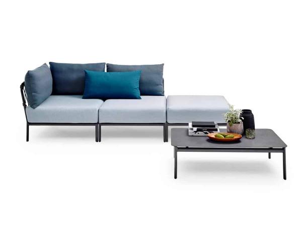 Solpuri Caro Lounge Gruppe Studio Alu white premium PG1