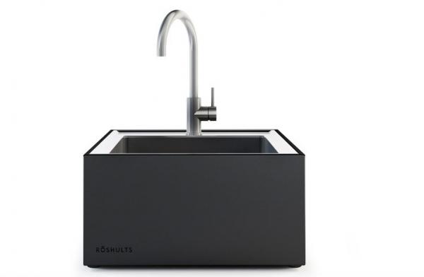 Röshults Open Kitchen Modul Spüle X Anthrazit