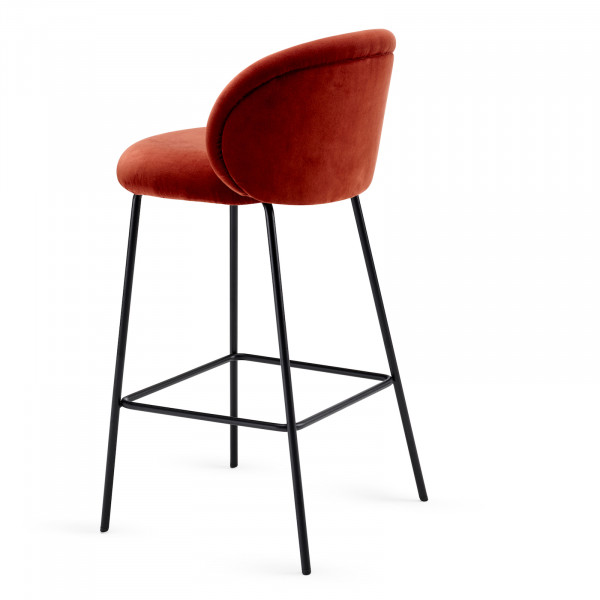 Freifrau Ona Counter Stool Velour Harald