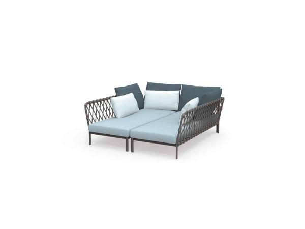Solpuri Caro Lounge Arrangement 1 Alu white premium PG1