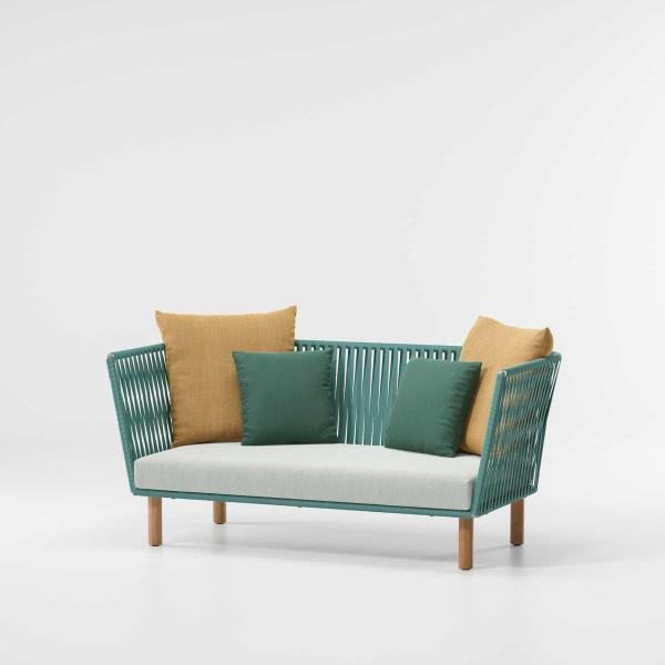 Kettal Bitta 2-Sitzer Sofa Bela Rope PG1