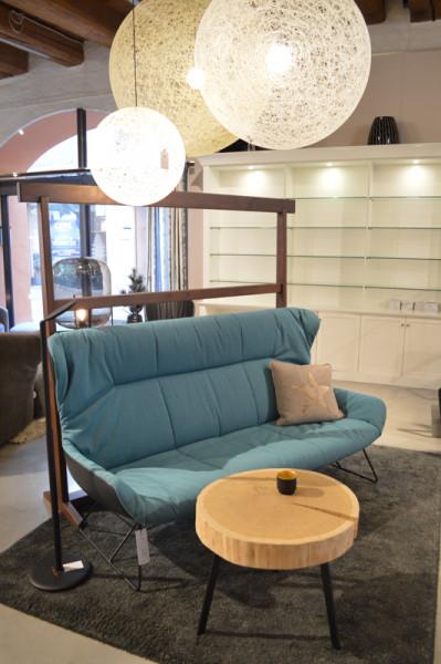 Freifrau Leya Wingback Couch 190cm