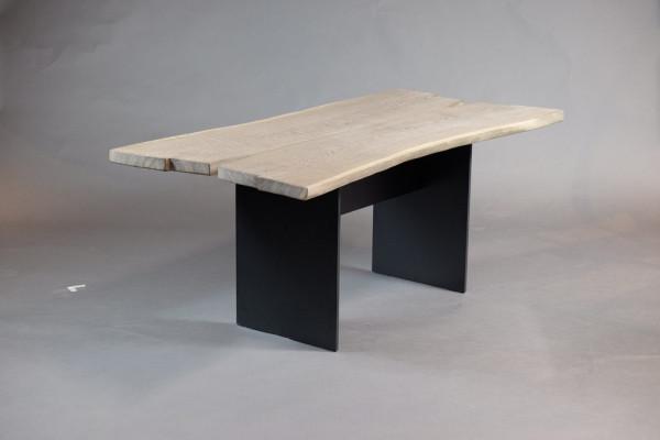 SK 08 Butterfly Tisch - Eiche geräuchert weiß roheffekt