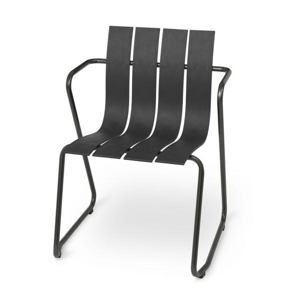 mater Ocean Outdoor Stuhl schwarz