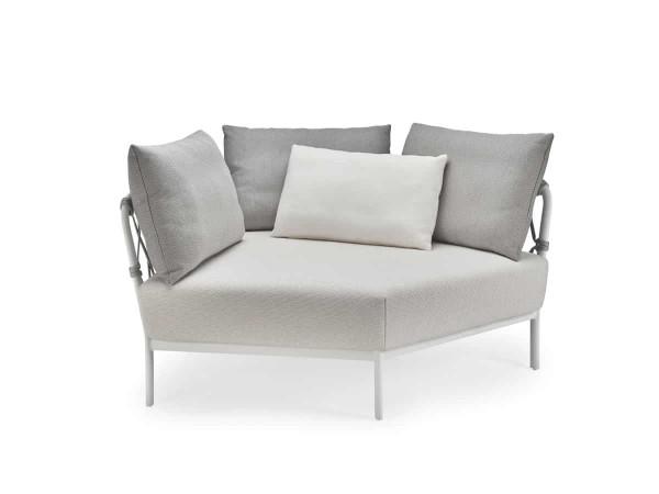 Solpuri Caro Lounge Eck-Modul XL Alu anthracite PG3