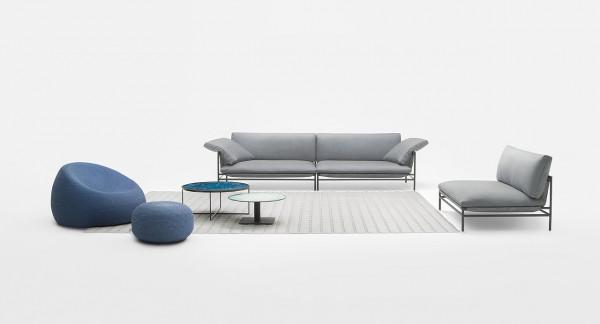Paola Lenti Canvas Sofa - Mittelelement