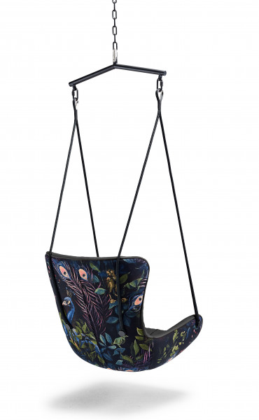 Freifrau Leya Wingback Swing Seat - Oasis Edition