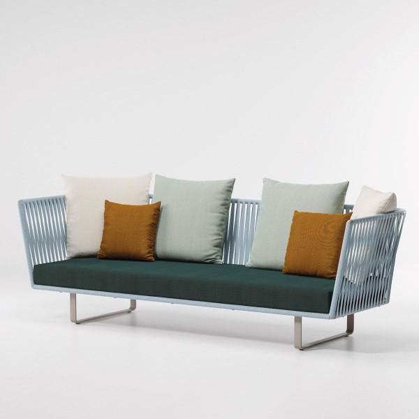 Kettal Bitta 3-Sitzer Sofa Bela Rope PG1