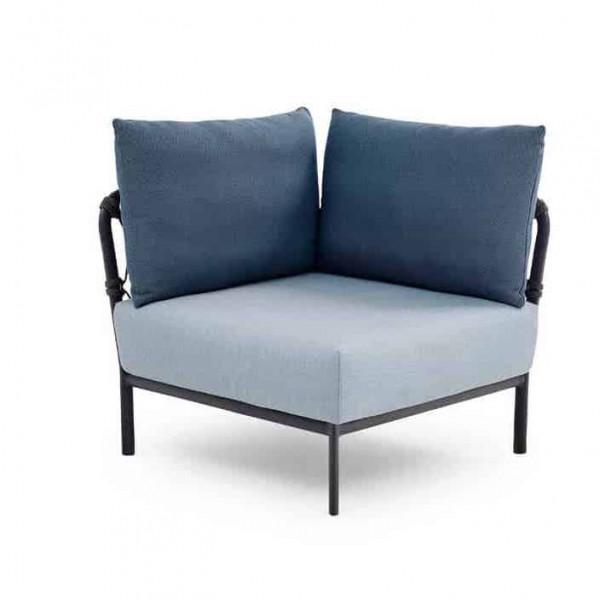 Solpuri Caro Lounge Eck-Modul 90° Alu anthracite deluxe PG2