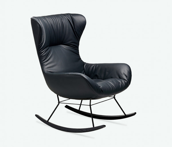 Freifrau Leya Rocking Wingback Chair PG2